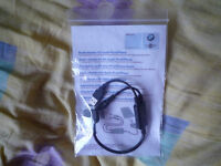 Genuine OEM BMW / MINI Y Cable Ipod / Iphone Audio Adaptor Cable 0440796 0440812
