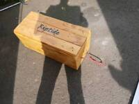 Wooden box trunk