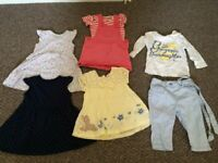 Baby girls clothes 9-12m