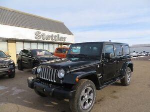 2016 Jeep Wrangler Unlimited SAHARA LEATHER! EXTENDED WARRANTY!