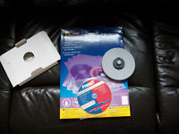 CD/DVD labelling kit with PC line glossy CD/DVD labels