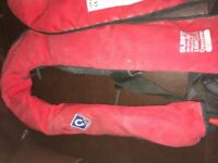 Life Jackets Crewsaver Compass Slim Fit x 4 Need re-gassing