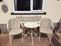 2 Seater garden patio set