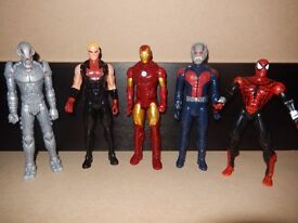 Large Marvel figures