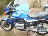 1988 bmw k75 in very good condition low mileage all old mots & new mot