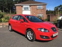 2009 SEAT LEON 1.6 S EMOCION ** ONLY 67,000 MILES ** ONE OWNER ** ALL CARDS ACCEPTED