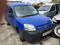 2003 CITROEN BERLINGO LX 800TD HDI (MANUAL DIESEL- FOR PARTS ONLY)