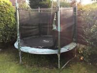 8ft? trampoline Plum