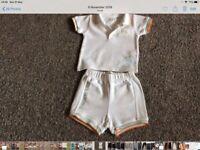 Timberland shorts & t shirt