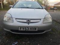 Honda civic 1.4 petrol for sale