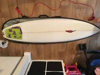James Cheal (chilli) surf board