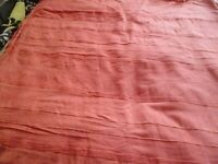 LARGE RED THROW / PICNIC BLANKET