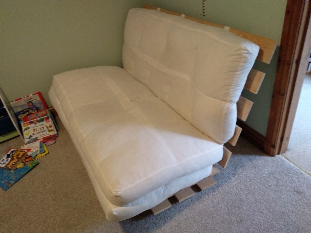 Ikea Double Futon Sofa Bed With Mattress Mum Grankulla