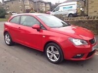 SEAT IBIZA 1.4 16V TOCA SPORTCOUPE 3DR * IDEAL FIRST CAR * CHEAP CAR * LOW TAX + INSURANCE * polo c1