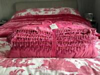 Laura Ashley throw