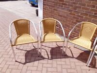 Aluminium Garden Table and 6 Chairs....Brand new