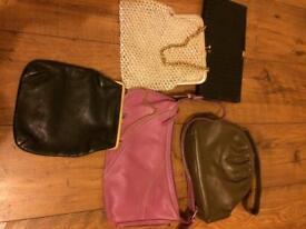 5 Ladies Handbags