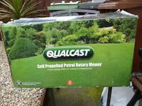 Qualcast 125cc Self-propelled Petrol Rotary Lawn Mower - 41cm brand new sealed boxed