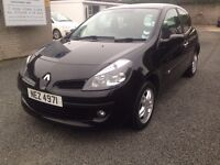2007 RENAULT CLIO 1.4 PETROL PRICE; 1799 ONO PX/EXCH