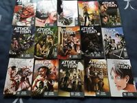 Attack on Titan volumes 1-15