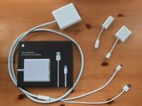 Apple connectors and dongles; Mini-display port adapters