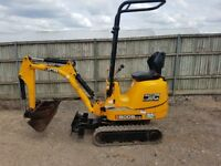 JCB 8008 800 kg mini digger 2014 One of the best you will find