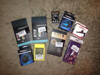 GoPro Head Strap + phone accessories all NEW