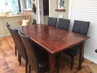 Extendable Dining Room Table.