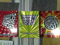 Guiness World Record Books 2008, 2009 and 2011