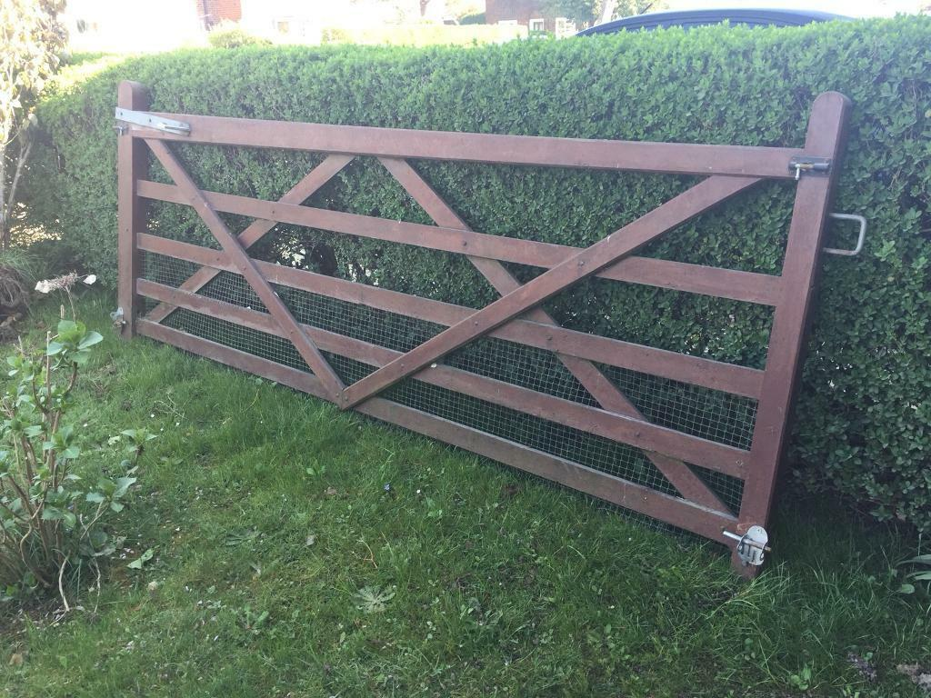 10ft Wide Farm Country Solid Wooden 5 Bar Gate Just 50 In Stanwell Surrey Gumtree
