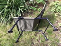 Folding fishermans type or camping chair. Good condition
