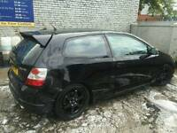 Honda civic 1.6 2005 type r
