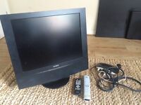 17 INCH SONY TV & ALBA FREEVIEW BOX