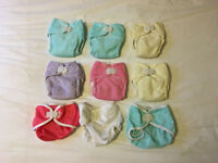 Thirsties newborn washable nappies and wraps set