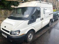 04 Transit Van,Spare/repair,Only 54k Miles!, Mot til end Oct, Good engine,needs p/s pump & welding