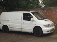 Mercedes Vito, no MOT, need some attention