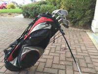 Slazenger Golf bag & irons