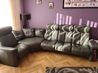 Ekornes Stressless Reclining Corner Sofa and Chairs with Foot stool