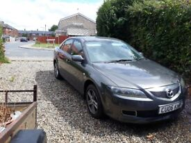 Mazda 6 2.0 ts 2006 fitted towbar all advisories on mot done with proof/bill 10 months mot