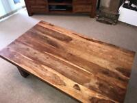 Harvey's Furniture solid wood Coffee table