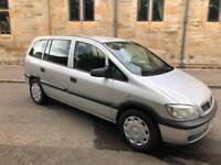 Vauxhall zafira 7 Seater Mot July 219.....77,000 miles