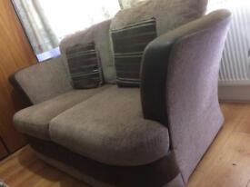 2x2 seater sofa