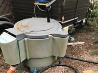Nexus pond filtration system