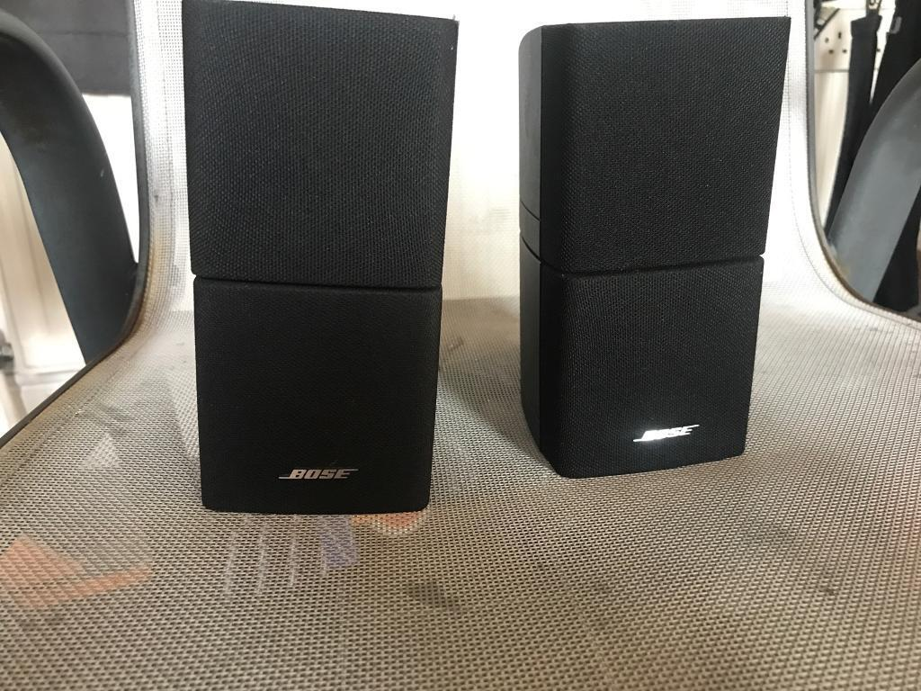 X2 bose double cube speakers