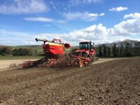 EXPERIENCED TRACTOR DRIVER REQUIRED FOR AUTUMN CULTIVATIONS