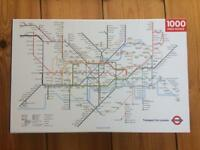 1000pc London Underground map jigsaw