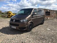 Volkswagen TRANSPORTER t5 sportline conversion coffee brown 2011 facelift 1.9 please read