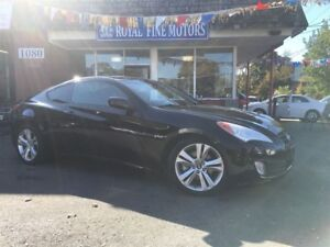 2010 Hyundai Genesis Coupe Automatic,leather,sunroof,alloy,accid