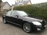 ***MERCEDES BENZ S320 CDI BLACK 2007***FULL SERVICE HISTORY***LOW MILEAGE***BARGAIN SALE***MAY SWAP