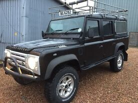 LAND ROVER 110 SPECIAL EDITION 200 TDI